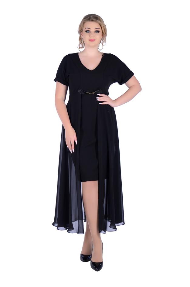Арт: 3-10. Коктейльное платье больших размеров Коктейльные фото 1
