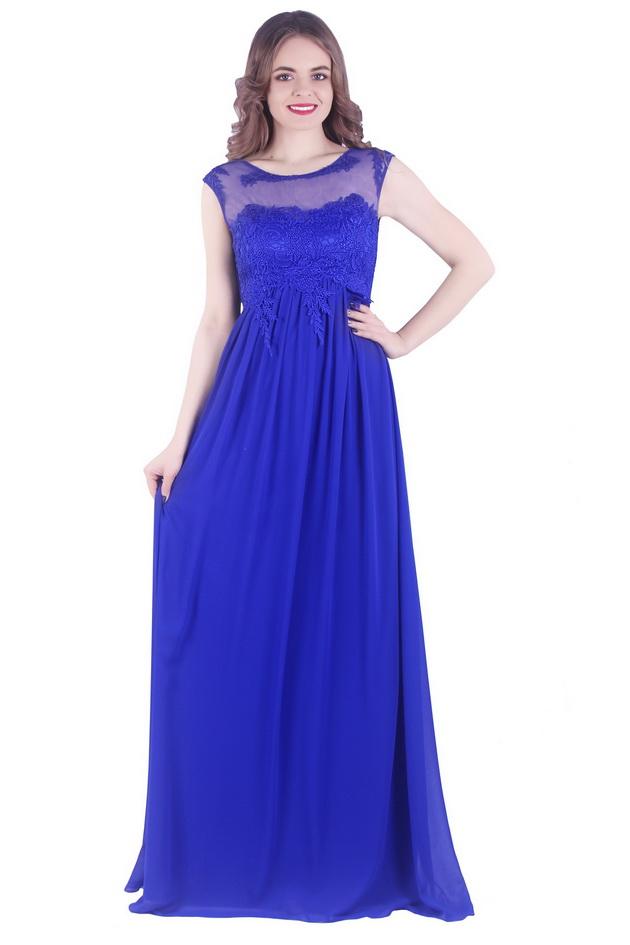 Арт: 42-06. Вечернее платье с кружевной отделкой Вечерние фото 1