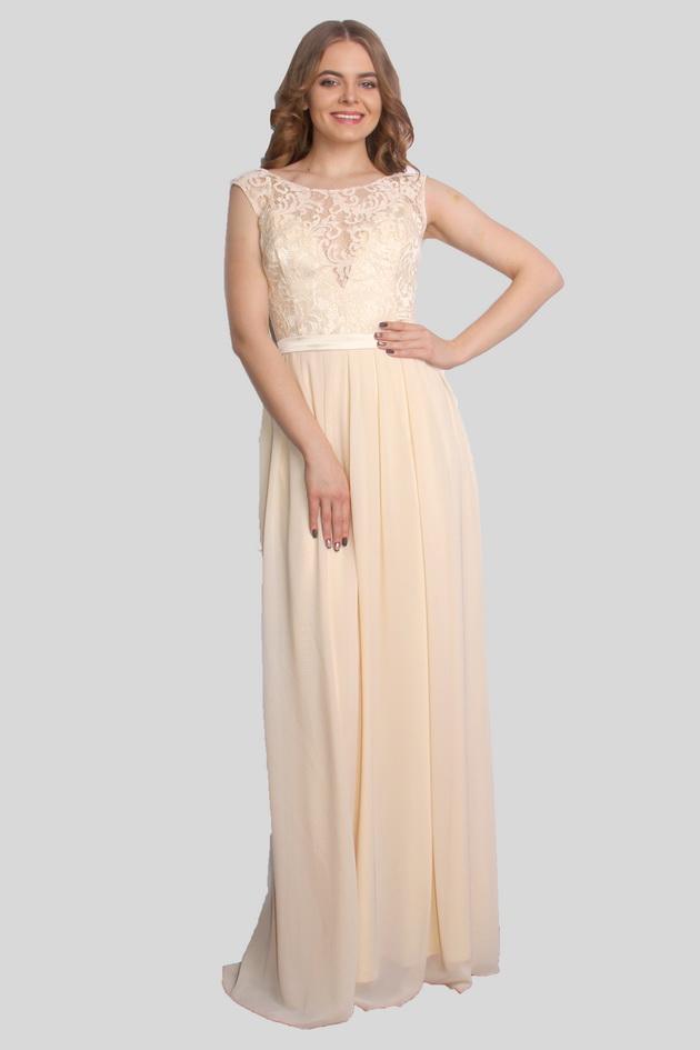 Арт: 43-25. Вечернее платье со складками Вечерние фото 1