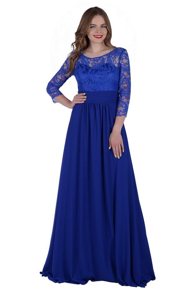 Арт: 43-47. Платье с  драпировкой Вечерние фото 1