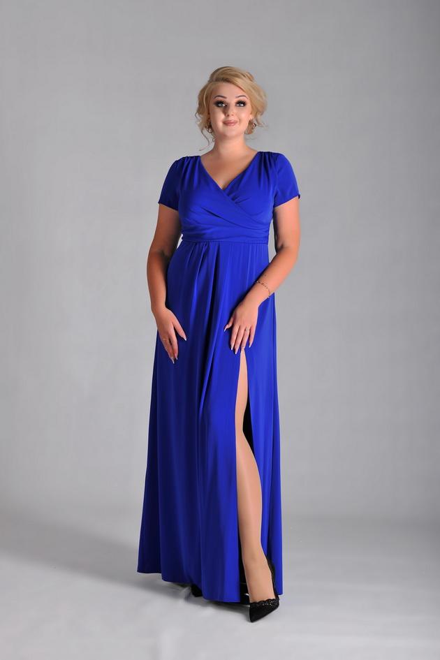 Арт: 43-95. Вечернее платье с разрезом Вечерние фото 1
