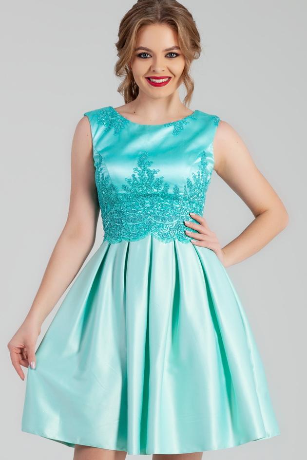Арт: 44-12. Коктейльное платье со складками Выпускные фото 1