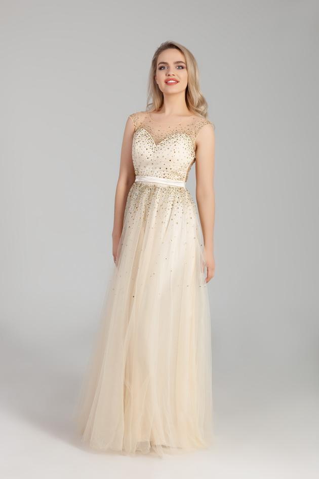 Арт: 44-74. Выпускное платье в пол Выпускные фото 1