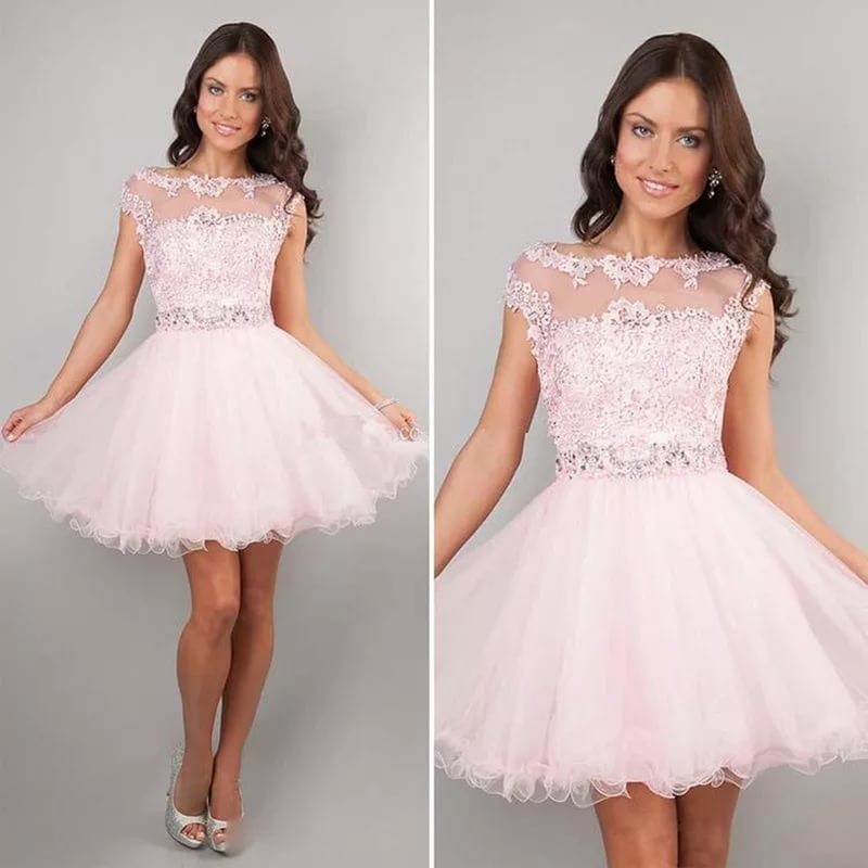 Воздушное бальное платье