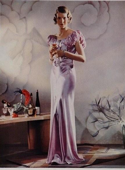 мода 50-х годов