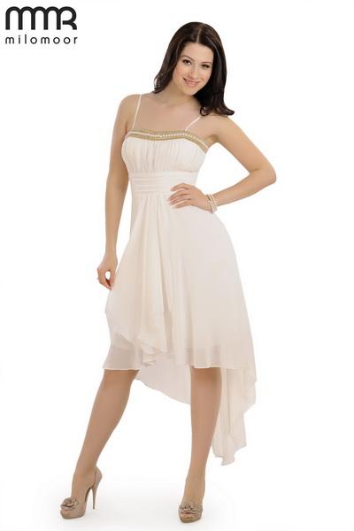 платье асимметричная юбка