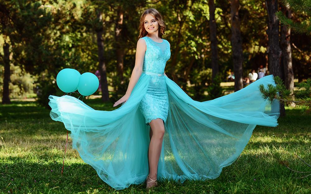 виды асимметричных платьев