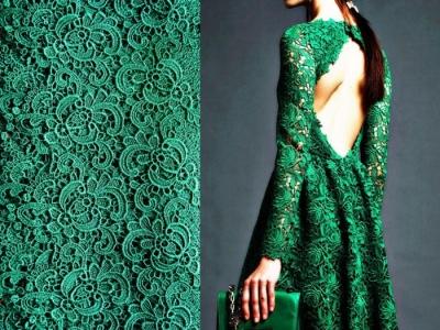 Какие ткани используют для вечерних платьев