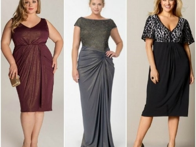 Как подобрать платье женщине с большим животом