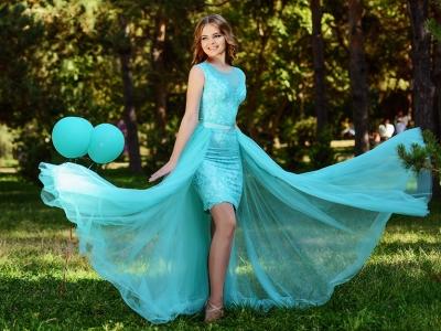 Выбираем асимметричное платье