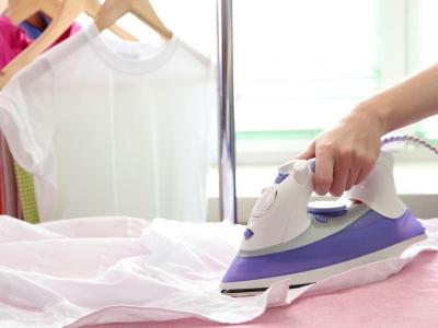 Как правильно выгладить платье