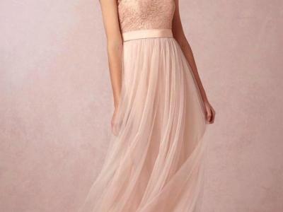 Длинное платье для выпускного бала: самый романтичный образ